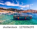 view at amazing archipelago... | Shutterstock . vector #1270356295