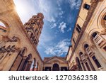 diocletian's palace's peristyle ... | Shutterstock . vector #1270362358