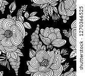floral seamless pattern. | Shutterstock .eps vector #1270366525