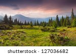 Beautiful Summer Landscape In...