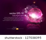 vector background with a mirror ...