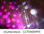 abstract purple pink and white... | Shutterstock . vector #1270400995