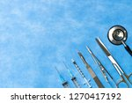 medical instruments for... | Shutterstock . vector #1270417192