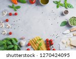 italian food cooking... | Shutterstock . vector #1270424095