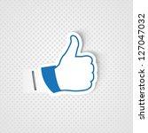 like symbol | Shutterstock .eps vector #127047032