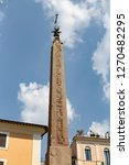 obelisk in pantheon square  ... | Shutterstock . vector #1270482295