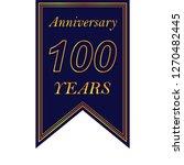 anniversary  100 years...
