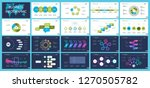 set of analysis or marketing... | Shutterstock .eps vector #1270505782