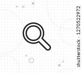 magnifier icon  vector best...   Shutterstock .eps vector #1270522972