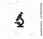 microscope simbol  vector best...   Shutterstock .eps vector #1270524328