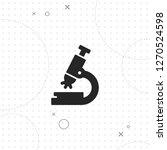 microscope icon  microscopic...   Shutterstock .eps vector #1270524598