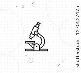 microscopic icon  laboratory...   Shutterstock .eps vector #1270527475