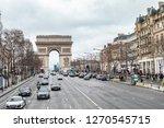 paris  france   january 28 ... | Shutterstock . vector #1270545715