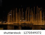 the dubai fountain   december... | Shutterstock . vector #1270549372