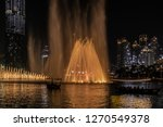 the dubai fountain   december... | Shutterstock . vector #1270549378