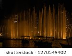 the dubai fountain   december... | Shutterstock . vector #1270549402