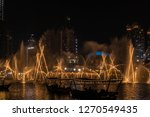 the dubai fountain   december... | Shutterstock . vector #1270549435