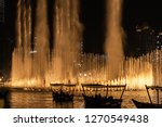the dubai fountain   december... | Shutterstock . vector #1270549438