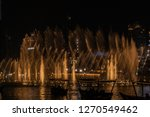 the dubai fountain   december... | Shutterstock . vector #1270549462