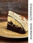 delicious chocolate and cream... | Shutterstock . vector #1270593412