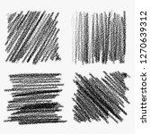 collection of random pencil... | Shutterstock .eps vector #1270639312