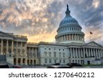 the us capitol in washington dc   Shutterstock . vector #1270640212