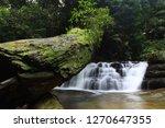 landscape photo view waterfall... | Shutterstock . vector #1270647355