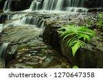 landscape photo view waterfall... | Shutterstock . vector #1270647358