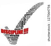 discipline info text graphics... | Shutterstock . vector #127064756