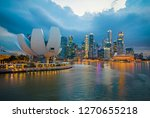 singapore city   singapore  ... | Shutterstock . vector #1270655218