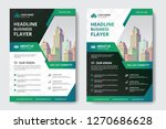 corporate business flyer poster ... | Shutterstock .eps vector #1270686628
