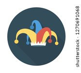 jester  hat  circus   | Shutterstock .eps vector #1270691068