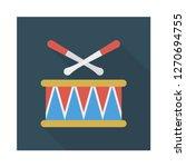 drum  stick   instrument  | Shutterstock .eps vector #1270694755