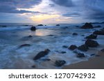 beautiful view from beach side... | Shutterstock . vector #1270742932