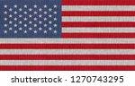 united states of america flag... | Shutterstock . vector #1270743295
