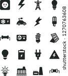 solid black vector icon set  ... | Shutterstock .eps vector #1270763608