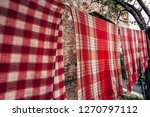 traditional towels near 2....   Shutterstock . vector #1270797112