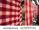 traditional towels near 2....   Shutterstock . vector #1270797115
