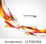 abstract background vector | Shutterstock .eps vector #127082306