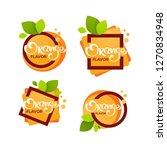 bright  sticker  emblem and... | Shutterstock .eps vector #1270834948