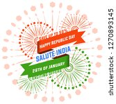 happy independence day india ... | Shutterstock .eps vector #1270893145