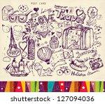 vector hand drawn illustration. ...   Shutterstock .eps vector #127094036