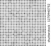 abstract halftone. black dots... | Shutterstock .eps vector #1270940752