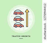 flat design thin line banner ... | Shutterstock .eps vector #1270944412