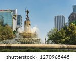 paseo reforma  diana fountain... | Shutterstock . vector #1270965445