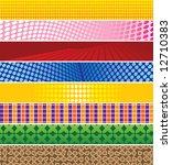 banner backgrounds | Shutterstock .eps vector #12710383