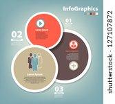 modern design circle template | Shutterstock .eps vector #127107872