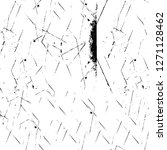 wall fragment with scratches... | Shutterstock .eps vector #1271128462