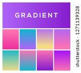 soft color gradients. trendy...