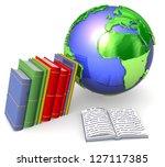 3d educational concept | Shutterstock . vector #127117385